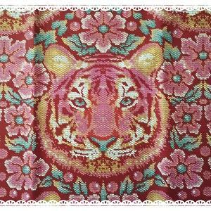 Tula Pinkのトラさん生地