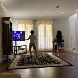 室内でダンスエクササイズ♪!