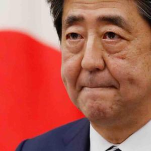 安倍総理、辞任表明