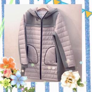 軽さがうれしい中綿コート