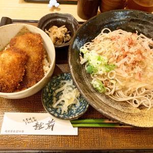 『福井&石川旅行記vol.2』〜駅の近くでお蕎麦とソースカツ♪