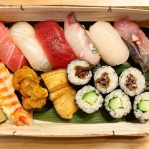 『鮨長おおさわ?@高津』〜お寿司のテイクアウト♪、オリンピックおわり。