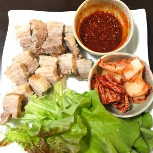 韓国茹で豚ポッサム★