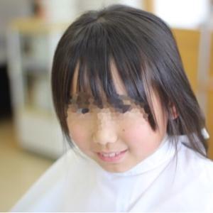 小学6年生の2回目のヘアドネーション