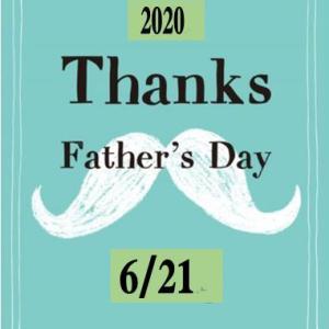 父の日は来週日曜日、、、忘れないで!!
