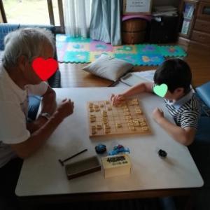 おじいちゃんとおばあちゃんの家へ