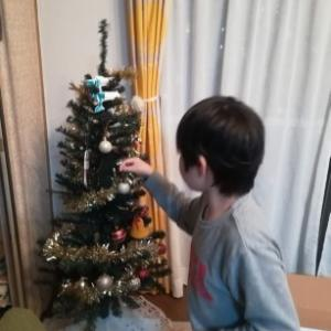 クリスマスツリーを出したはなし