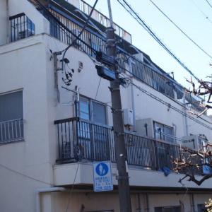 渋谷区栄和HS賃貸マンションのセットバック。