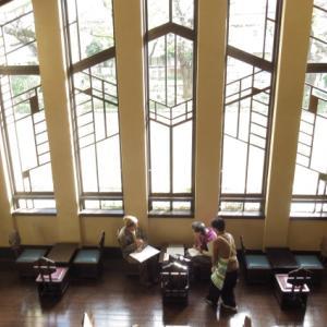 豊島区「自由学園明日館」の潤いある空間。