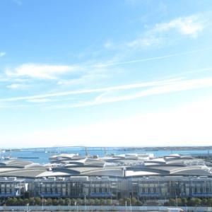 続き、江東区有明の美しい空と海を?