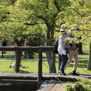200%葛飾区水元公園で清々しい空間を愉しむ2人様たち!