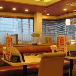 内装リフォーム現場調査後に某レストランで食事を。