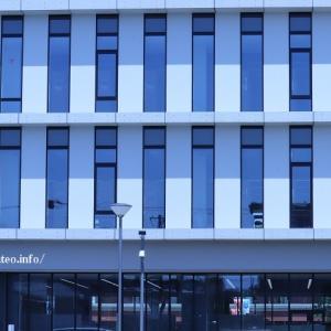 足立区花畑地域にオープンした文教大学。