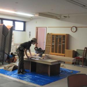 足立区AFC様3階間仕切り変更リフォーム工事開始。