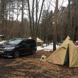 2018年のキャンプ
