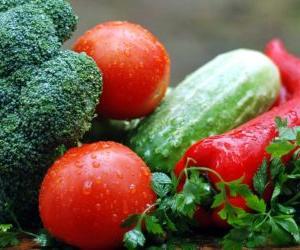 夏の思い出*野菜の収穫と美味しい桃