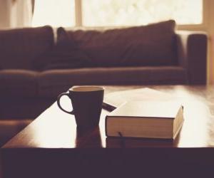 夜お茶と読書