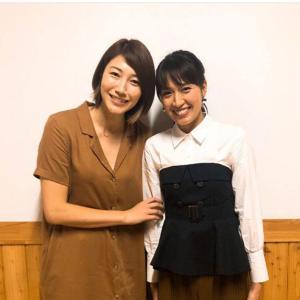 狩野舞子さん、浅尾美和との2ショット公開「美人2人」「奇跡のコラボ」など反響