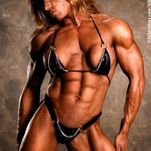 【画像】おまえらこの筋肉ムキムキマッチョの女の子とセ〇クスできる?