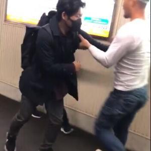 【動画】小田急で喧嘩がヤバイwwwwwwwwwwwwwwwwwwwwwwww