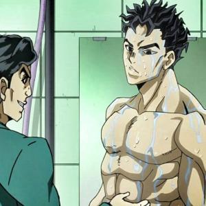 吉良吉影ってなんで身体鍛えてないのにあんなにムキムキなんだ?