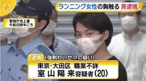 【悲報】多摩川の土手でランニング女性の胸触る、男(20)逮捕…「コロナで外出できず散歩していた」と供述