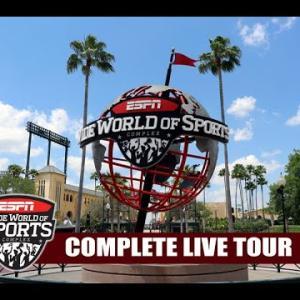 【衝撃】NBAが開催されているディズニーリゾートのスポーツ施設が凄い こんな国に勝てるわけがないwwwww