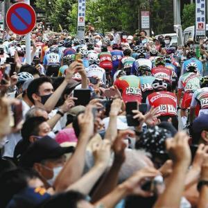 【悲報】東京五輪ロードレース、有観客で大盛りあがり大成功!!