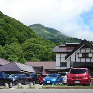 八甲田山の登山断念す