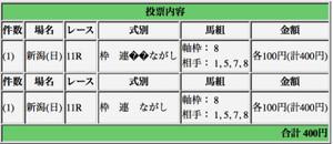 関屋記念 (G3)