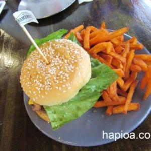 グアムですごーくおいしかったハンバーガー屋さんHAMBROS!