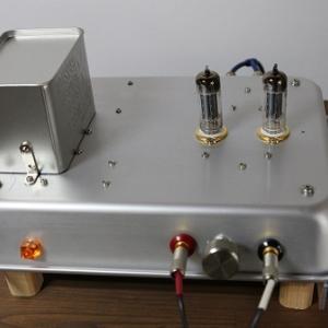 6CG7 SRPPプリアンプの製作