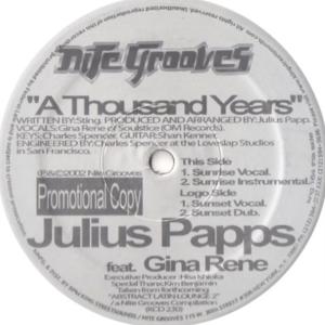 Julius Papp Feat. Gina Rene – A Thousand Years