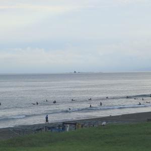 夕方の鵠沼海岸をお散歩♪