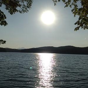 6/9森林浴は岩洞湖で^^