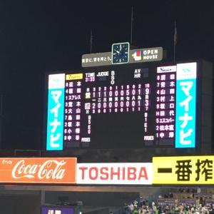 タイガース打線に二桁被安打で、スワローズ大敗