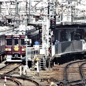 2019/11/21 平日限定阪急西宮北口→嵐山行直通特急