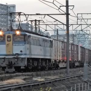 2019/12/11早朝編  EF652127カラシ & DD51重連回送