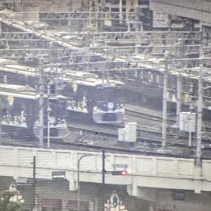2019/12/11 阪急電車超イベント?(梅田ライブカメラから)