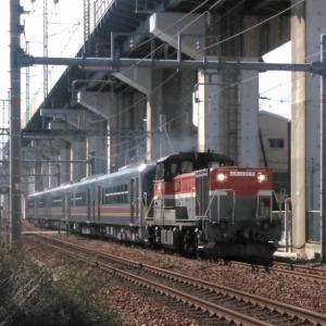 2020/2/17  川重JR東GV-E400系5B甲種輸送