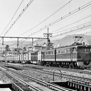 EH10コンテナ列車