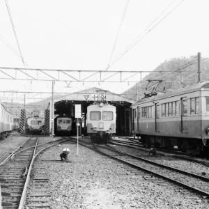 ある日の近江鉄道彦根車庫