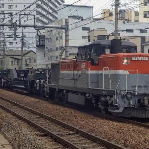 2020/6/3 DE10-1561特大貨物シキ1000走行