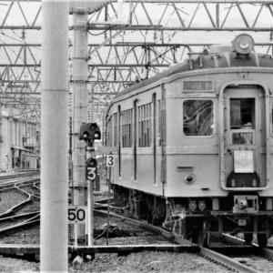 45年前和歌山駅はいろいろ三昧  (1975/7撮影)