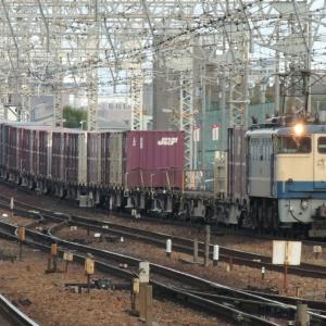 今はなきEF65-2121(尼崎駅にて)