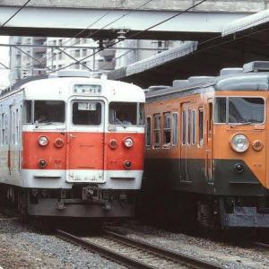 関西線で活動した湘南色113系