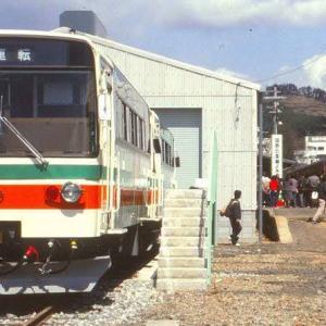 現在の北条鉄道は35年前に国鉄から引継