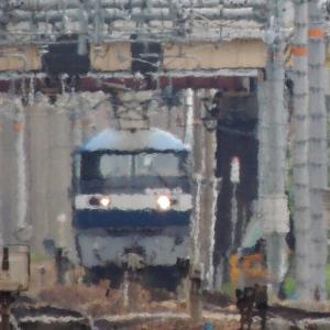 2020/6/22午前編  月曜日限定2077列車は単機で走行