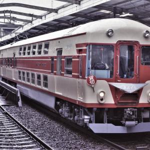 鶴橋駅発車する初代「あおぞら」号