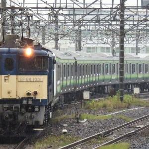 ある日のEF64配給列車(2013年撮影?)